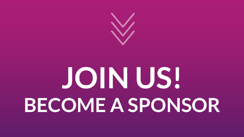 Join us! Become a sponsor