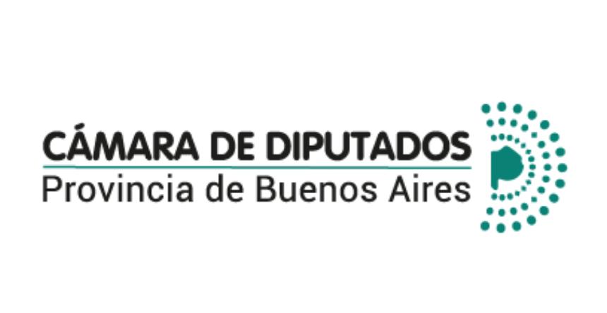 Logo de la honorable cámara de diputados de la provincia de Buenos Aires. Lo dirigirá al sitio web de la Cámara de Diputados de la Provincia de Buenos Aires.