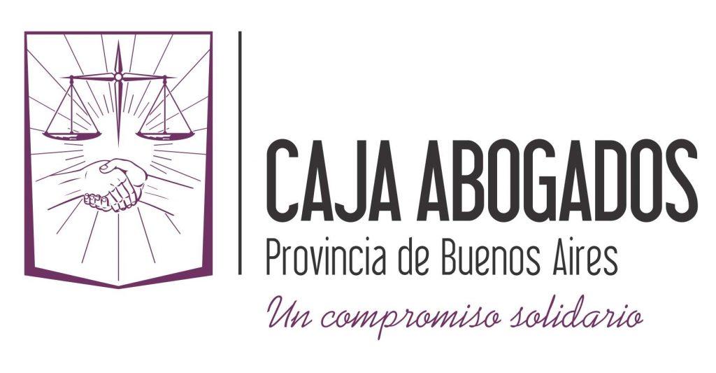 Logotipo de la Caja de Abogados de la provincia de Buenos Aires.