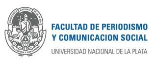 Logotipo de la Facultad de periodismo y comunicación social de la universidad nacional de la plata.