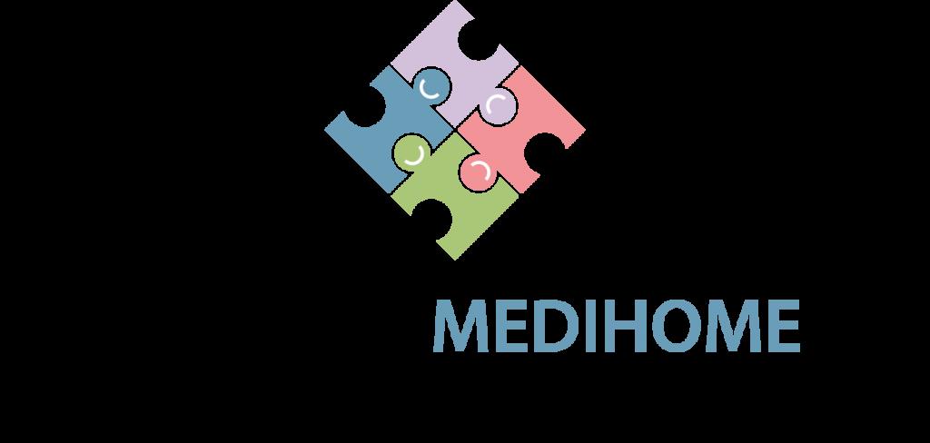 Logotipo de Medi Home.