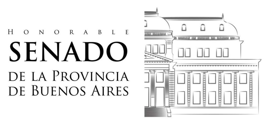 Logotipo del honorable senado de la provincia de Buenos Aires.