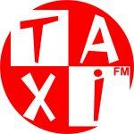 Logotipo de Taxi FM radio.