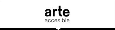 Logo del Programa Arte Accesible, formado por las letras de ambas palabras en color negro sobre fondo blanco.