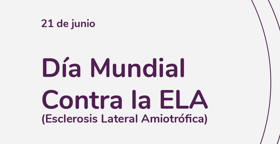 Image commemorating World Day to fight Amyotrophic Lateral Sclerosis (ALS)