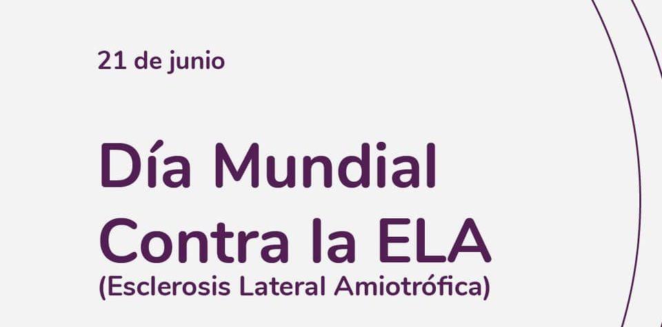 Imagen de conmemoración del Día Mundial de la Lucha contra la Esclerosis Lateral Amiotrófica (ELA)