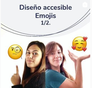 Image of Pilar and Camila, members of the Universal Design team,