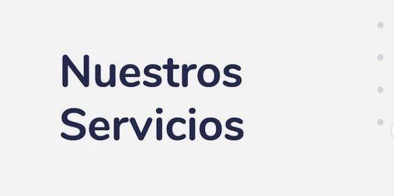 Imagen de los diferentes servicios que ofrece Comparlante: Accesibilidad Universal, Accesibilidad Web y Diseño Universal.