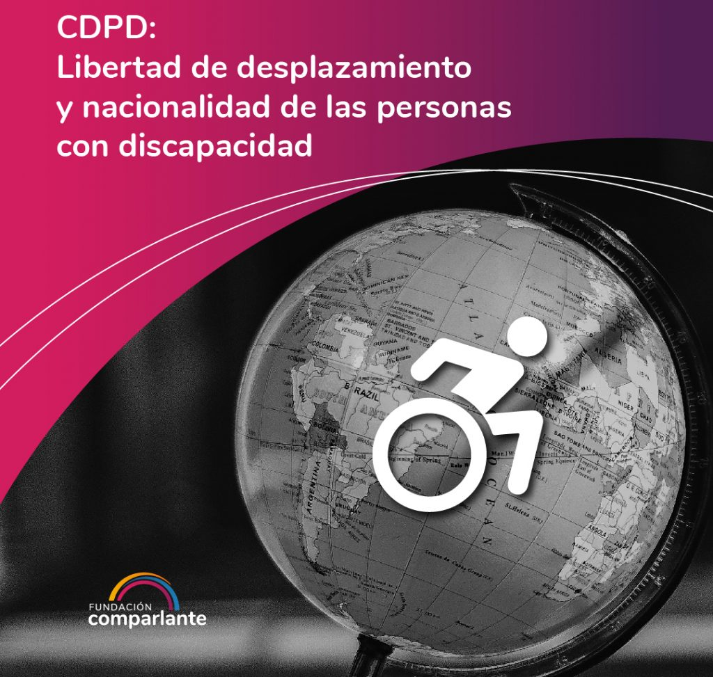 Image with the title CRPD: freedom of movement and nationality of persons with disabilities
