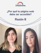 ¿Por que tu sitio página web debe ser accesible? – Razón 8